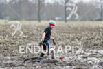 Athlete during the bike portion at the 2015 winter duathlon…