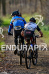 Athletes during the bike portion at the 2015 winter duathlon…