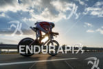 Jan Frodeno competes during the bike leg at the 2016…