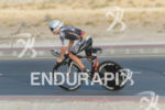 Josh Amberger competes during the bike leg at the 2016…