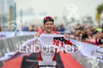 Jan Frodeno celebrates at the finish line at the 2016…
