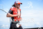 Tim Don during the run portion of the 2016 Ironman…