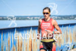 Linsey Corbin during the  portion of the 2016 Ironman 70.3…