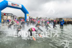 Female elite athletes at the swim start at the 2016…