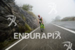 Victor Del Corral (ESP) competes during the bike leg at…