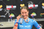 Laura Philipp (GER) at the finish at the 2016 Ironman…