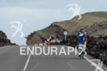 Athletes on the bike at the 2016 Ironman Lanzarote in…