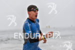 Brent Mcmahon during the swim portion of the 2016 Ironman…