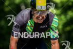 Lionel Sanders during the bike portion of the 2016 Ironman…