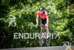 Paul Matthews during the bike portion of the 2016 Ironman…