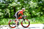 Meredith Kessler during the bike portion of the 2016 Ironman…