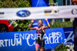 Holly Lawrence during the finish line portion of the 2016…