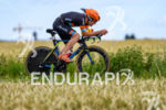 Eneko Llanos during the bike leg at the Ironman European…