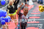 Andreas Boecherer at the finish at the Ironman European Championship…