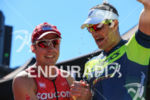 Andy Potts and Tim Reed celebrate after going 1-2 at…