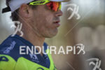 Andy Potts during the run at the 2016 Ironman 70.3…