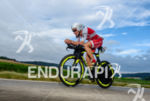 Cyril Viennot competes during the bike leg at Challenge Roth…
