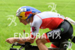 Daniela Ryf competes during the bike leg at Challenge Roth…