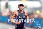 Joe maloy during the run portion of the 2016 Rio…