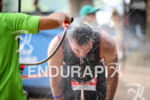 Age Group athlete during the run leg at Ironman Vichy…