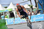 Mark Barr (USA) during the bike portion of the 2016…