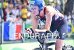 Faye MMCclelland during the bike portion of the 2016 Rio…