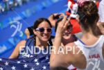 Americans during the run portion of the 2016 Rio Paralympics…