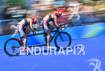 Team USA during the bike portion of the 2016 Rio…
