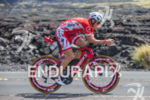 Ben Hoffman (USA) on bike at the Ironman World Championship…