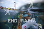 Age groupers prepare for the swim start at the 2016…