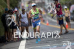 Mirinda Carfrae during the run at the 2016 Ironman World…