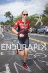 Sarah Piampiano tackles the run course at the 2016 Ironman…