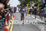 Heather Jackson during the run at the 2016 Ironman World…