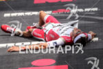 Jan Frodeno collapses after wining the 2016 GoPro Ironman World…