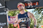 Ben Collins during the run portion of the 2016 Ironman…