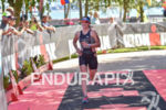 Jennifer  Spieldenner during the finish portion of the 2016 Ironman…
