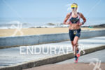 Kirsty Jahn during the run portion of the 2016 Ironman…