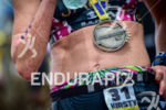 Kirsty Jahn during the finish portion of the 2016 Ironman…