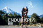 Jesse Thomas during the bike portion of the 2017 Ironman…
