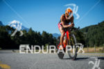 Barbara Riveros during the bike portion of the 2017 Ironman…