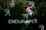 Alicia Kaye during the run portion of the 2017 Ironman…