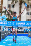 First time competitor Jenny Fletcher (USA) wins the 2017 Israman…