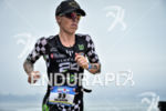 Heather Jackson during the run portion of the 2017 Ironman…