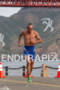 Bevan Docherty runs at the 2011 Escape from Alcatraz Triathlon…