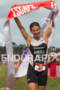 Nicky Samuels wins at the 2011 Escape from Alcatraz Triathlon…