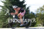 Heather Wurtele on bike at the 2011 Ford Ironman Lake…