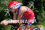 Ben Hoffman on bike at the 2011 Ford Ironman Lake…