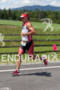 Ian Mikelson on run at the 2011 Ford Ironman Lake…