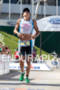 Jason Shortis finishes at the 2011 Ford Ironman Lake Placid