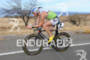 Frederick Van Lierde competing in the bike portion…